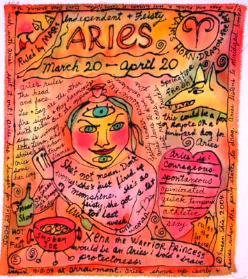 Aries Painting